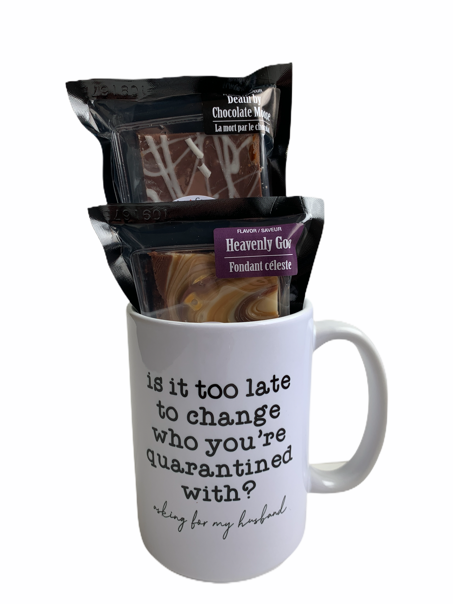 Is it too late to change who you're quarantined with? - COVID Sass Coffee Mug