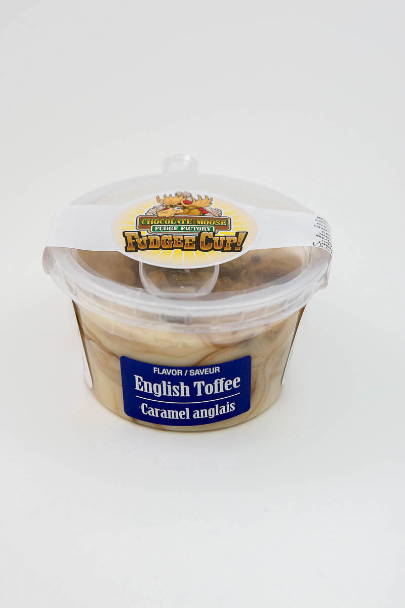English Toffee - Fudge Cup