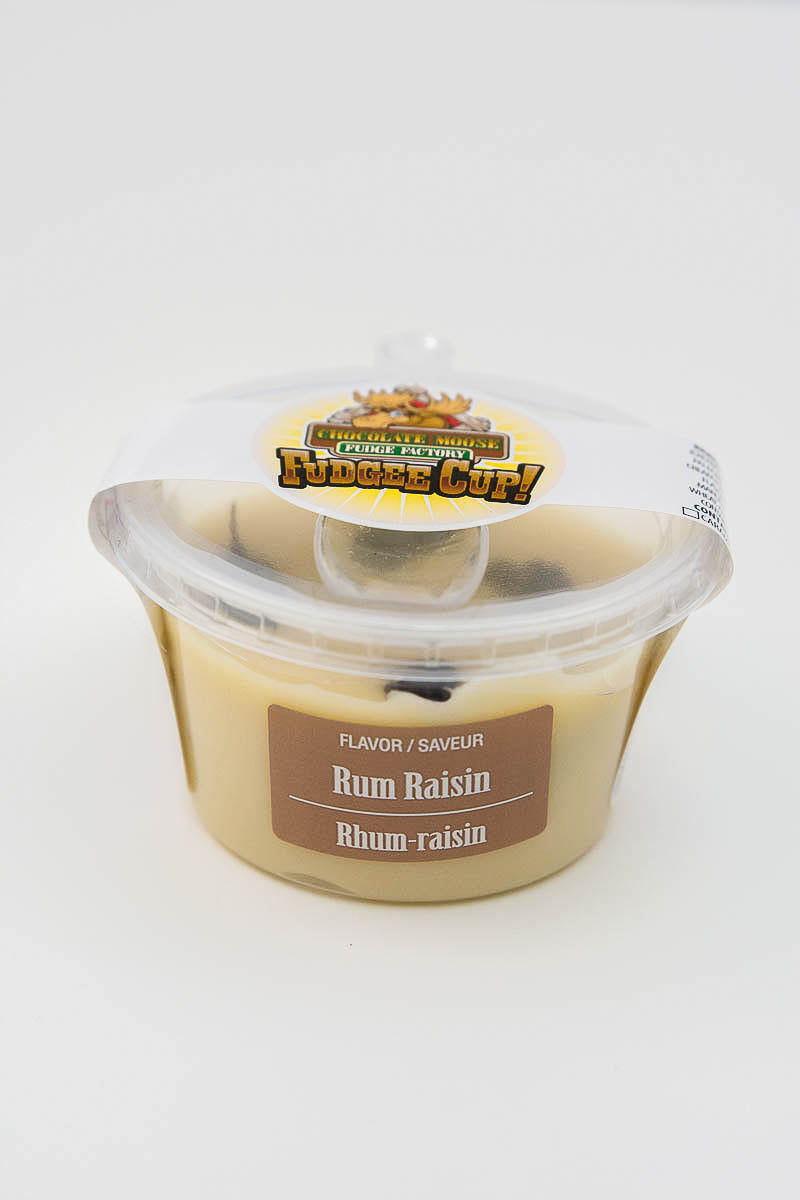 Rum Raisin - Fudge Cup