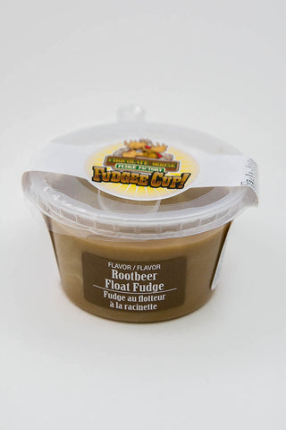 Rootbeer Float Fudge - Fudge Cup