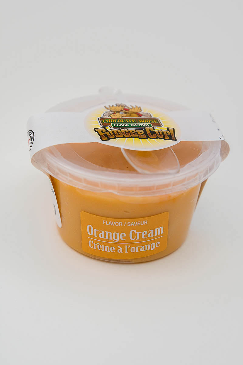 Orange Cream - Fudge Cup