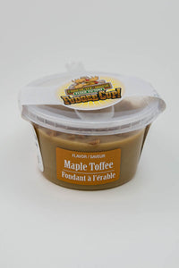 Maple Toffee - Fudge Cup