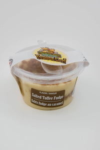Salted Toffee Fudge - Fudge Cup