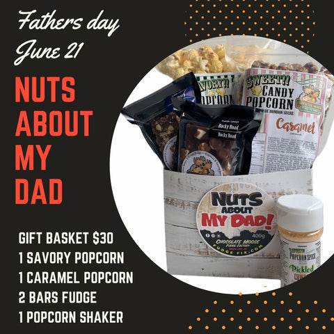Nuts About My Dad - Father's Day Gift Basket