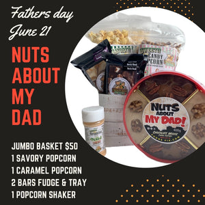 Nuts About My Dad - Father's Day Jumbo Gift Basket