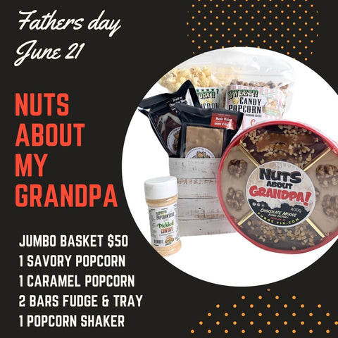 Nuts About My Grandpa - Father's Day Jumbo Gift Basket