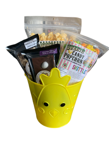 Yellow Chickie Easter Basket