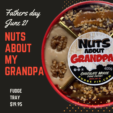 Nuts About My Grandpa - Father's Day Fudge Tray