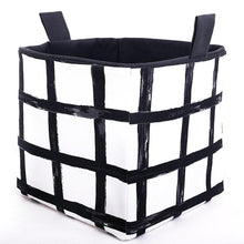Load image into Gallery viewer, cube storage baskets monochrome decor MIMI Handmade Baskets Australia