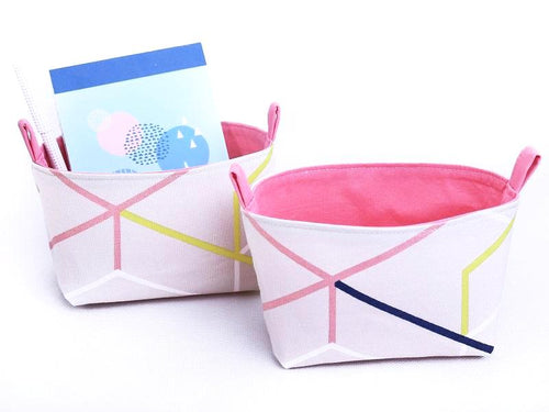 Set of 2 ORIGAMI Baskets