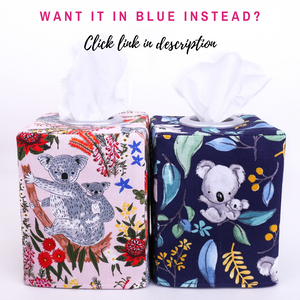 pink-and-blue-tissue-box-covers-featuring-koalas-for-gum-tree-australiana-baby-nursery-home-decor