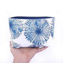 Load image into Gallery viewer, MIMI Handmade - FIREWORKS - Fabric Storage Baskets/Coastal Décor Decorative Basket - MIMI Handmade Baskets