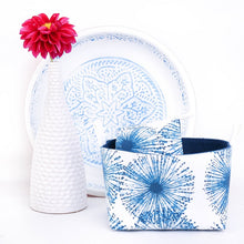 Load image into Gallery viewer, MIMI Handmade - FIREWORKS - Fabric Storage Baskets/Coastal Décor – MIMI Handmade Baskets
