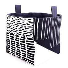 Load image into Gallery viewer, Large Cube Storage Basket - INDUSTRIAL (black)