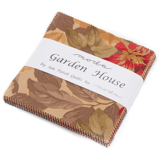 "Garden House - Charm Pack - (42) 5"" squares - Moda  - By Jan Patek - 5"" Stackers"