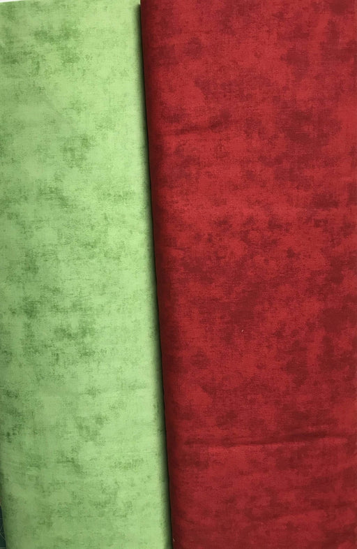 "108 in Wide Back! - Shades! - Quilt Back Fabric - Riley Blake - 108"" wide Wagon Red or Christmas Green! - RebsFabStash"