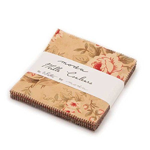"Mille Couleurs - Charm Pack - (42) 5"" squares - Moda - By 3 Sisters - 5"" Stackers"
