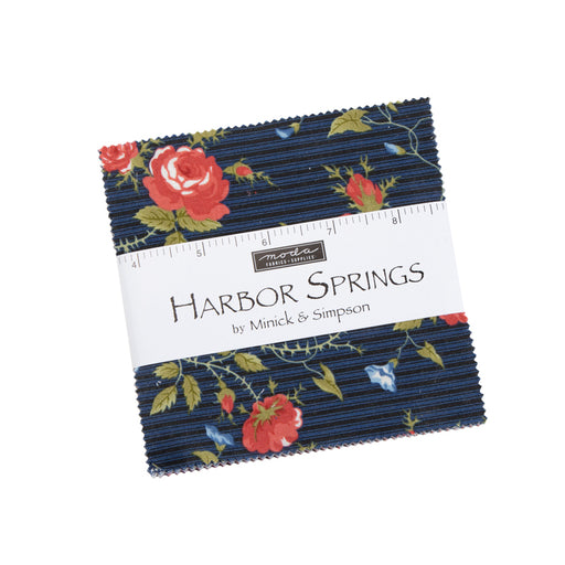 "Early Release!! Harbor Springs - Charm Pack - By Minick & Simpson for MODA - (42) 5"" Squares"