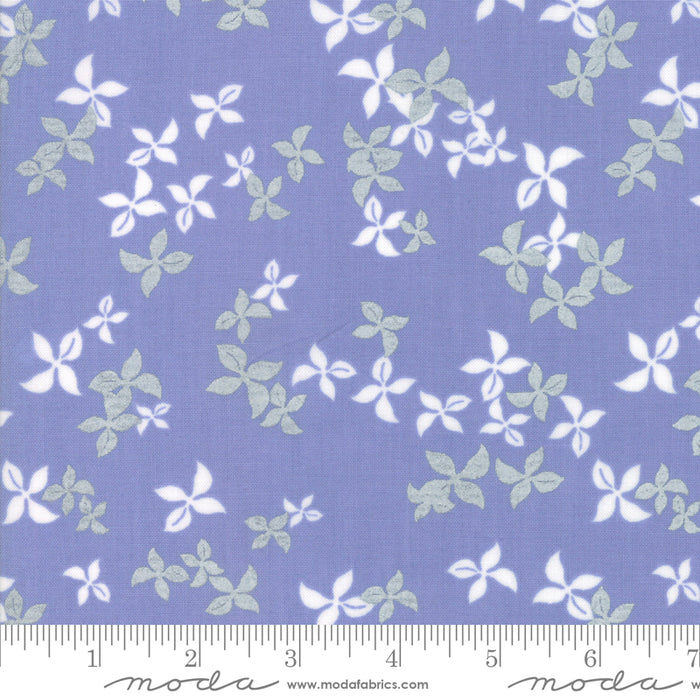 New! Chill - Glace White - by the yard - by Brigitte Heitland for Zen Chic - MODA - Hello Winter, Time To Get Cozy