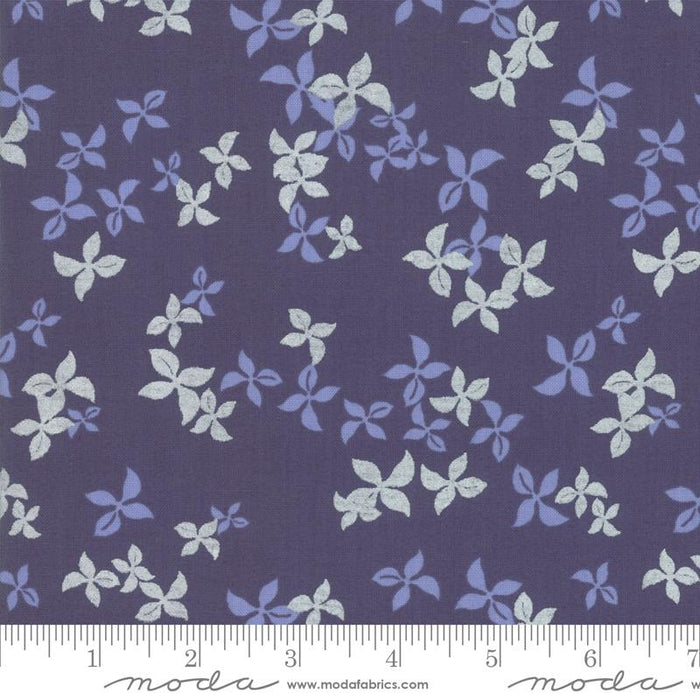 New! Chill - Snowflakes Sapphire - by the yard - by Brigitte Heitland for Zen Chic - MODA - Hello Winter, Time To Get Cozy