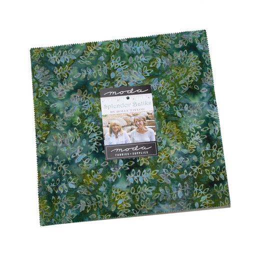 "Splendor Batiks - Layer Cake - by Holly Taylor for Moda - (40) 10"" Squares"