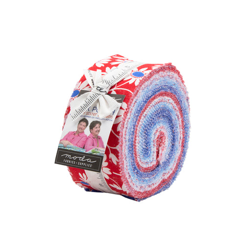 "Early Release!! Back Porch - Jelly Roll - By Me & My Sister for MODA - (40) 2.5"" Strips"