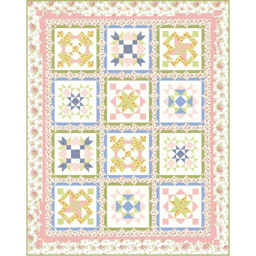 The Garden Grove Quilt Kit - Windermere - Brenda Riddle Designs - Moda