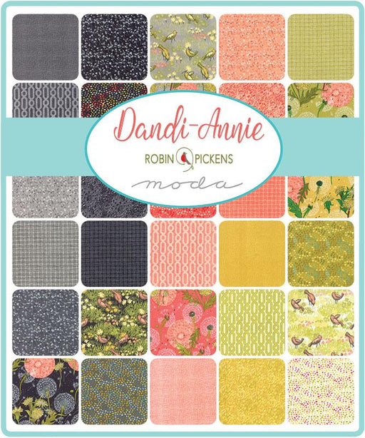"NEW! Dandi Annie - Layer Cakes - MODA - by Robin Pickens (42) 10"" squares"