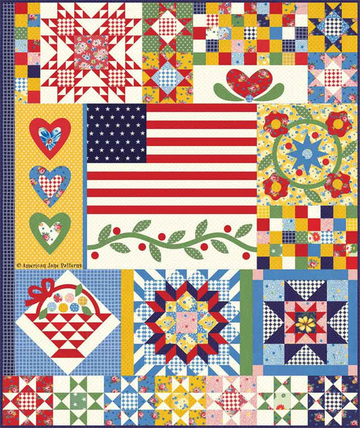 Sweet Harmony Boxed Quilt Kit - February Favorites by American Jane for Moda - KIT 21750