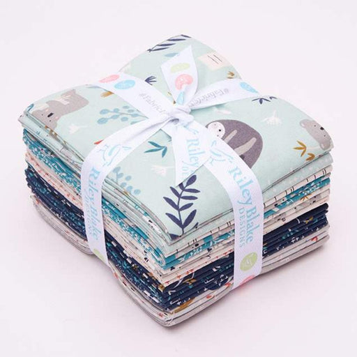 "NEW! Joey - (18) Fat Quarter Bundle (18"" x 22"" pieces) - Riley Blake - by Deanna Rutter - Koala bears, sloths, and animals!"