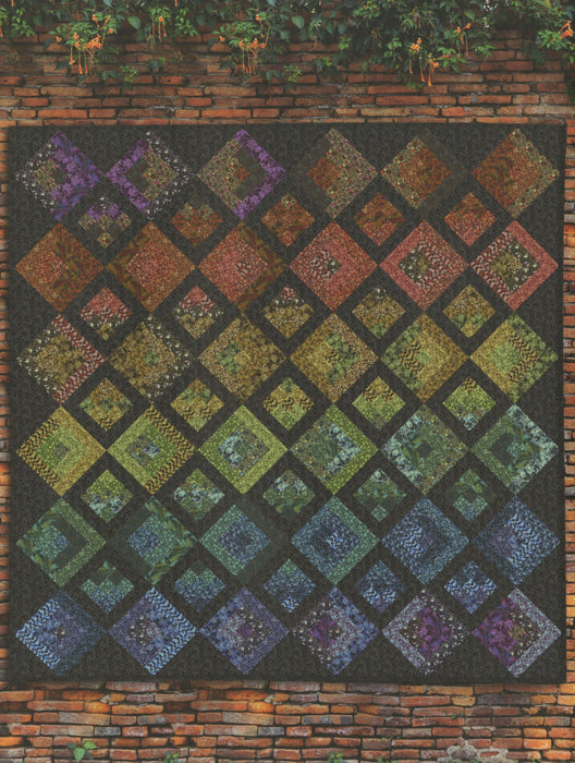 New! Garden of Riches Quilts - 6 Beautiful Projects  - Book/Patterns - by Garden Delights II from Gray Sky Studio