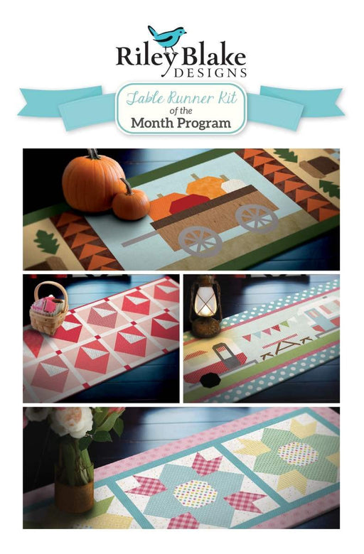 Riley Blake TABLE RUNNER of the Month Club- Riley Blake Designs - Best price on the internet!