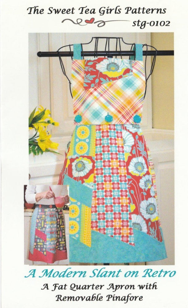 A Retro Apron - Pattern - Sweet Tea Girls - A Modern Slant on Retro - RebsFabStash