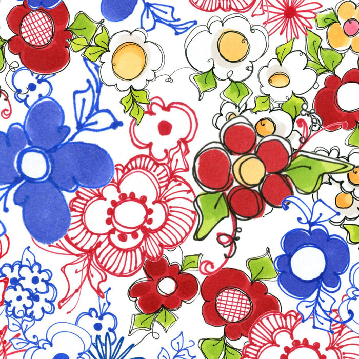 Apronesque - Kitchen Posies - per yard - Loralie Harris Designs - Cute Apron or kitchen fabric - C - RebsFabStash
