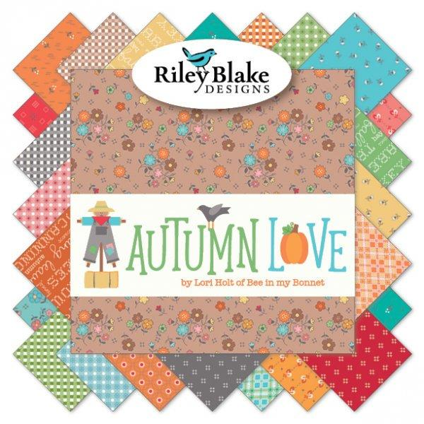 Autumn Love Chunky Thread #2 - Lori Holt for Riley Blake Designs - Use for all her Sew Alongs - Bee in my Bonnet - Sampler Pack - 6 skeins - RebsFabStash
