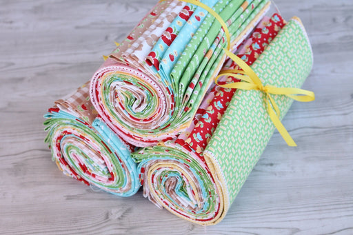 "Bake Sale 2 - PROMO Fat Quarter Bundles - 18"" x 22"" pieces - Lori Holt for Riley Blake Designs - Let's Bake 2 - RebsFabStash"