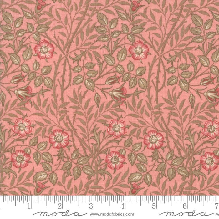 "Best of Morris - Fat Quarter Bundle - (20) 18"" x 21"" pieces - MODA - William Morris - reproduction pinks, blues, greens, tans/creams - RebsFabStash"