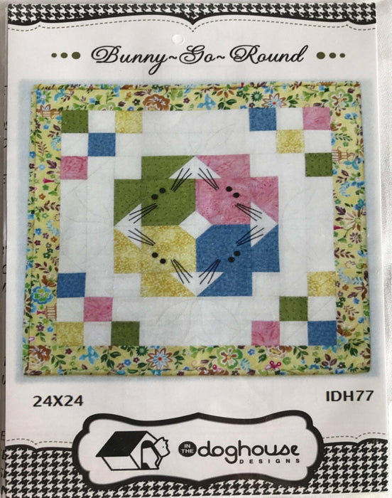 Bunny-Go-Round by Deborah Bahr-Johnson - Doghouse Designs - Pattern - RebsFabStash