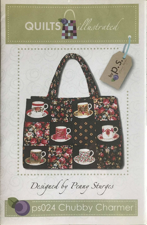Chubby Charmer - Designed by Penny Sturges - Quilts Illustrated bag pattern - RebsFabStash
