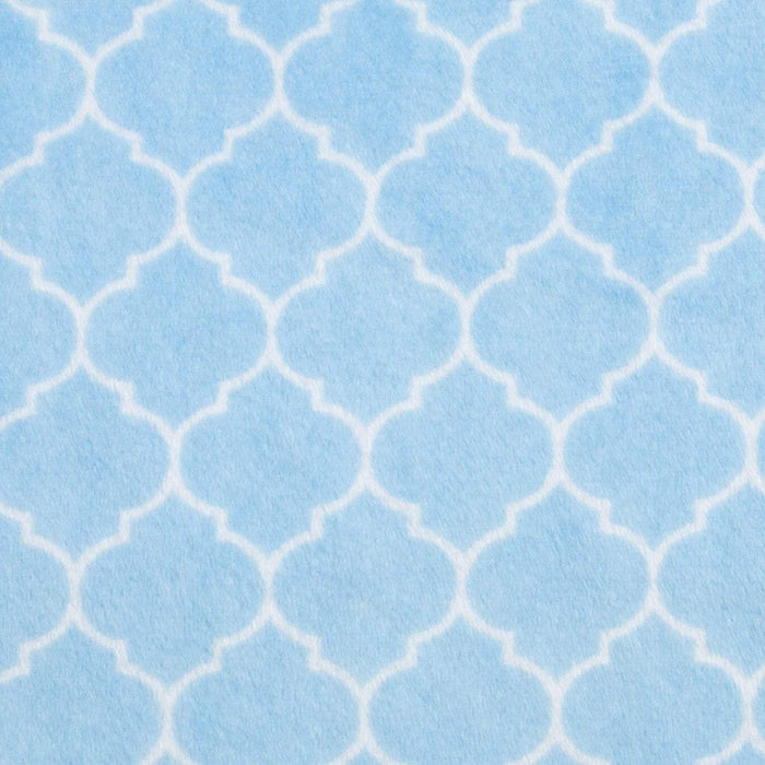 Cuddle Soft - Lattice - per yard - Shannon Cuddle - Robert Kaufman - Pink Lattice - RebsFabStash