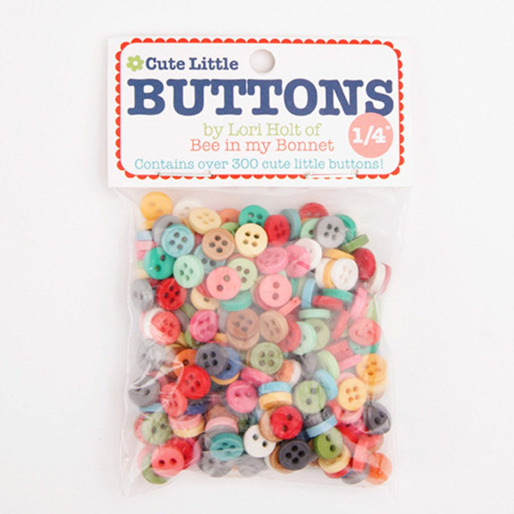 Cute Little Buttons - Lori Holt for Riley Blake Designs - Use for all her Sew Alongs - They're here!! We carry all of them! - RebsFabStash