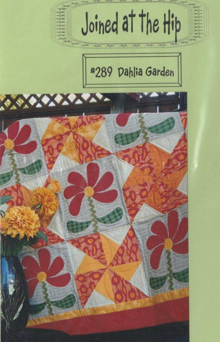 Dahlia Garden - Pattern - by Joined at the Hip - RebsFabStash