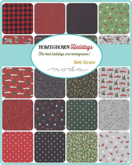 "Early Release! Homegrown Holidays - Fat Quarter Bundle - (31) 18"" x 21"" pieces - by Deb Strain for MODA - holidays on the farm - RebsFabStash"
