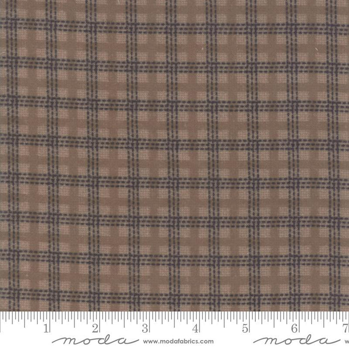 "Early Release! New! Farmhouse Flannels II - FLANNEL - Moda - Fat Eighth Bundle (40) 9"" x 21"" pieces - Primitive Gatherings - MODA - traditional plaids & stripes - RebsFabStash"