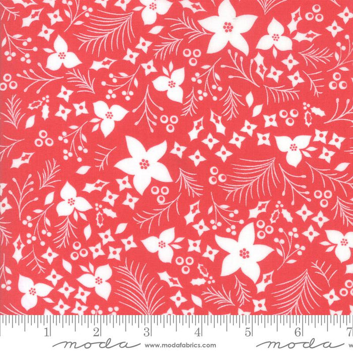 GREEN 40 JELLY ROLL STRIPS 100/% COTTON PATCHWORK FABRIC ~ CHRISTMAS RED