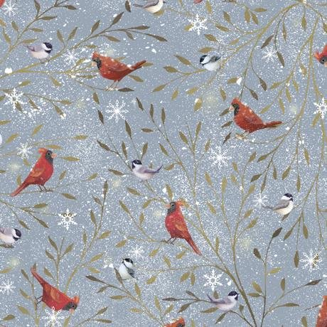 FLAWED - Woodland Buddies - Minky / Cuddle Fabric - per yard - by Sarah Summers for QT Fabrics - Scenic - 27875 -KMINK - RebsFabStash