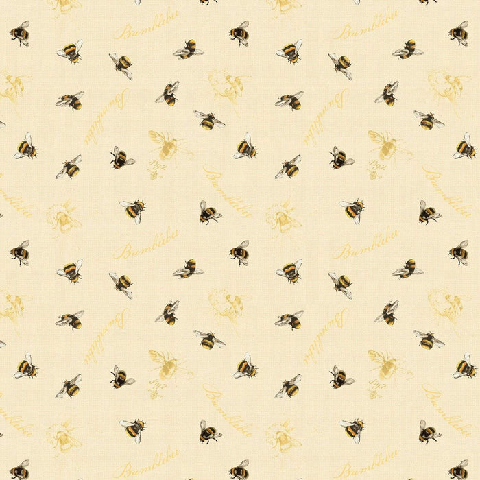 Follow the Sun by Lisa Audit - per yard - Wilmington Prints - Back by popular demand! - Small black dots on cream 86434-119 - RebsFabStash