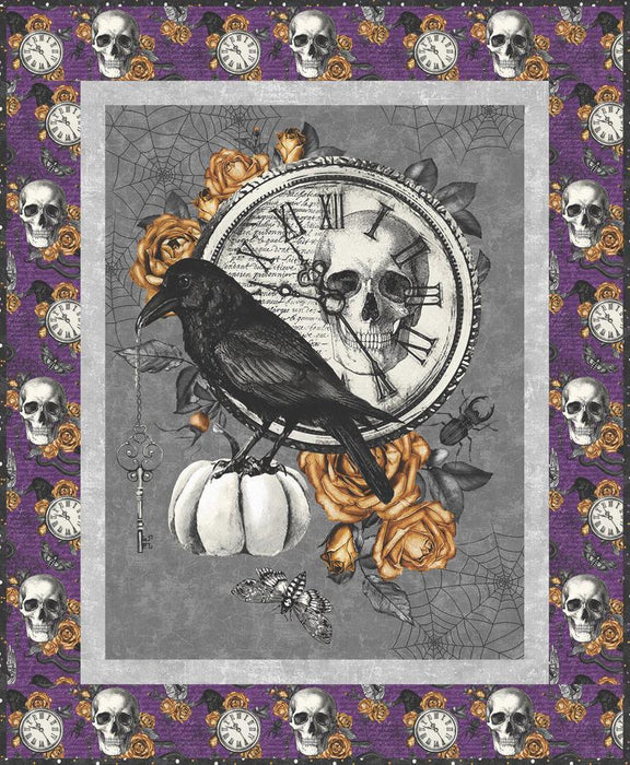 Fright Night - 3 IN 1 Quilt Kit!! - uses Wicked by Nina Djuric for Northcott - Pattern by Heidi Pridemore - 3 Projects in One Kit!! - RebsFabStash