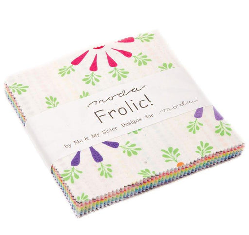 Frolic! - Charm Pack - MODA - Me and My Sister - RebsFabStash