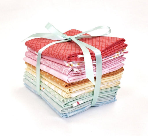 "Garden Girl - by Zoe Pearn Designs for Riley Blake Designs - PROMO FQ Bundle - 18"" x 22"" pieces - Riley Blake - 11 fat quarters - SEWWW Cute! - RebsFabStash"
